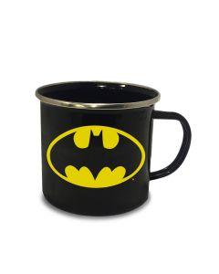 Batman Logo Emaille Tasse / Mug