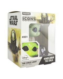 The Mandalorian The Child / Baby Yoda 3D Light Icon Lampe