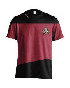 Star Trek TNG Red T-Shirt