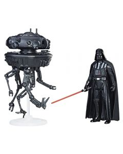 E5: Force Link Class A Imperial Probe Droid & Darth Vader