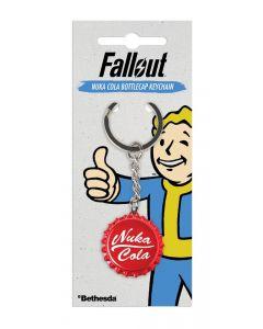Fallout Metall Nuka Cola Bottlecap Keychain / Schlüsselanhänger