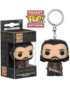 Game of Thrones Jon Snow 2 Pop! Keychain