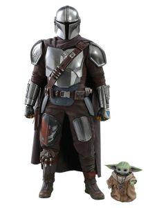 Star Wars The Mandalorian 1/6 30cm The Mandalorian & The Child Doppelpack Hot Toys