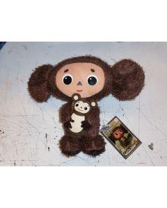 Cheburashka with Bear Plush