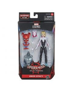 Marvel Legends BAF Stilt-Man Spider-Man : Into the Spider-Verse Gwen Stacy