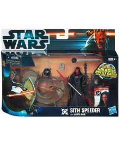 Star Wars Darth Maul mit Sith Speeder