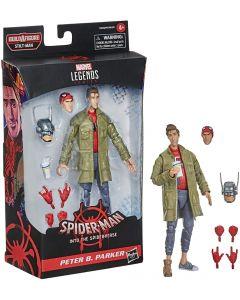 Marvel Legends BAF Stilt-Man Spider-Man : Into the Spider-Verse Peter B. Parker