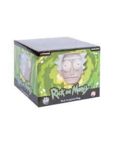 Rick and Morty 3D Shaped Rick Head Tasse / Mug