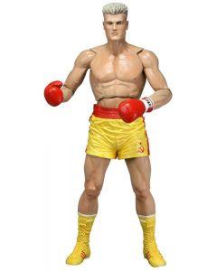 Rocky 40th Anniversary Ser.2 Ivan Drago Yellow Trunks NECA
