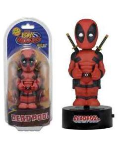 Deadpool Solar Body Knocker Bobblehead / Wackelkopf