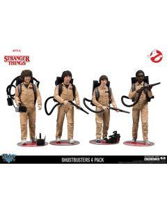 Stranger Things 4er-Pack Ghostbusters McFarlane