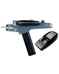 Star Trek TOS Black Handle Phaser Replik 1/1