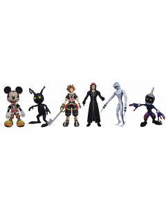 Kingdom Hearts Select Mickey, Axel and Shadow