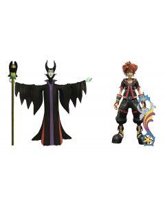 Kingdom Hearts Select Sora and Maleficent