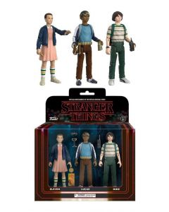 Stranger Things ReAction 3er-Pack Mike, Eleven & Lukas
