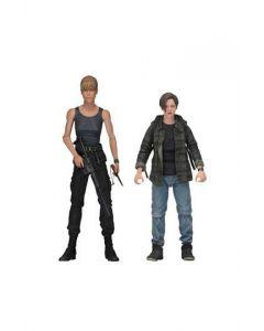 Terminator 2: Sarah Connor & John Connor 2-Pack NECA