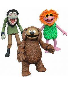 The Muppets Select Series 3 Rowlf, Crazy Harry & Mahna Mahna