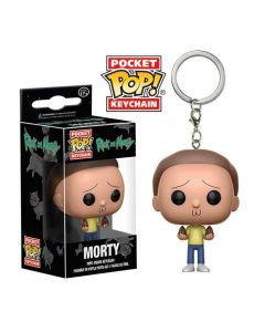 Rick and Morty Morty Pop! Keychain
