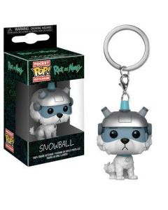 Rick and Morty Snowball Pop! Keychain