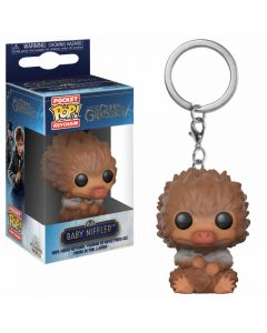 Fantastic Beasts 2 POP! Keychain Baby Niffler (Tan)