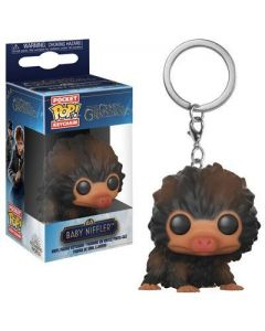 Fantastic Beasts 2 POP! Keychain Baby Niffler (Brown Multi)