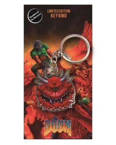 DoomCacodemon Metall Keychain / Schlüsselanhänger