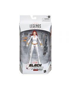 Marvel Legends Black Widow White Suit Deadly Origin