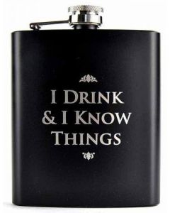 Game of Thrones Flachmann I Drink & I Know Things