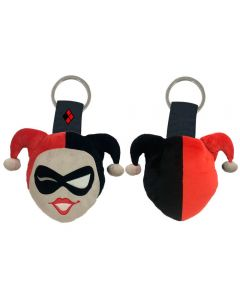 DC Comics Harley Quinn Plüsch-Keychain
